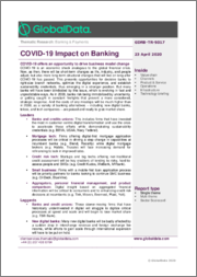 Impact on Banking: COVID-19 - Thematic Research