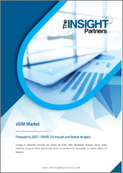 eSIM Market Forecast to 2027 - COVID-19 Impact and Global Analysis by Application; Vertical