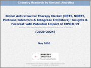 Global Antiretroviral Therapy Market (NRTI, NNRTI, Protease Inhibitors & Integrase Inhibitors): Insights & Forecast with Potential Impact of COVID-19 (2020-2024)