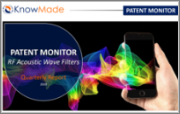 RF Acoustic Wave Filters Patent Monitor