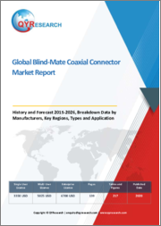Global Blind-Mate Coaxial Connector Market Report, History and Forecast 2015-2026, Breakdown Data by Manufacturers, Key Regions, Types and Application