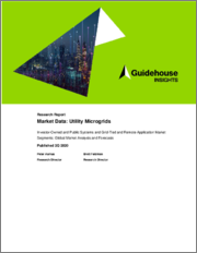 Market Data - Utility Microgrids: Investor-Owned and Public Systems and Grid-Tied and Remote Application Market Segments - Global Market Analysis and Forecasts
