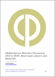 Global Genetic Disorders Partnering 2014-2020: Deal trends, players and financials