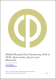 Global Hospital Care Partnering 2014-2020: Deal trends, players and financials