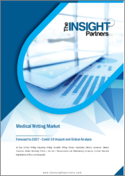 Medical Writing Market Forecast to 2027 - COVID-19 Impact and Global Analysis by Type ; Application ; End User ; and Geography