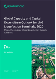 Global Capacity and Capital Expenditure Outlook for LNG Liquefaction Terminals, 2020 - US and Russia Lead Global Liquefaction Capacity Additions