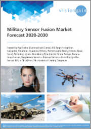 Military Sensor Fusion Market Forecast 2020-2030: Forecast by Application (Command and Control, ISR, Target Recognition, Navigation, Situational Awareness, Others), Platform, Technology, Type, plus Analysis of Leading Companies
