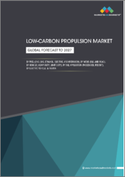 Low-Carbon Propulsion Market by Fuel Type (CNG, LNG, Ethanol, Electric and Hydrogen), Mode (Rail and Road), Vehicle Type (Heavy-Duty and Light-Duty), Rail Application (Passenger and Freight), Electric Vehicle, and Region - Global Forecast to 2027