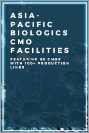 Asia-Pacific Biologics CMO Facilities