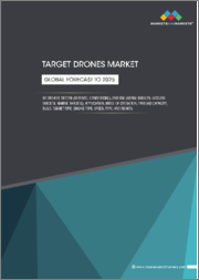 Target Drones Market by End-use Sector (Defense, Commercial), End Use (Aerial Targets, Ground Targets, Marine Targets), Application, Mode of Operation, Payload Capacity, Build, Target Type, Engine Type, Speed, Type, & Region-Global Forecast to 2025