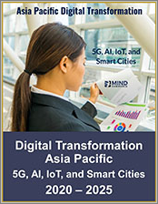 Digital Transformation Asia Pacific: 5G, Artificial Intelligence, Internet of Things, and Smart Cities in APAC 2020 - 2025