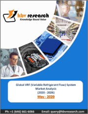 Global Variable Refrigerant Flow Systems Market By Type By Component By End User By Region, Industry Analysis and Forecast, 2020 - 2026