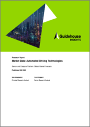 Market Data: Automated Driving Technologies - Sensor and Compute Platform: Global Market Forecasts