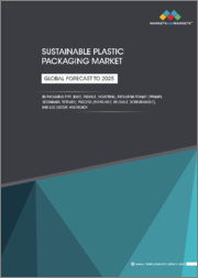 Sustainable Plastic Packaging Market by Packaging Type (Rigid, Flexible, Industrial), Packaging Format (Primary, Secondary, Tertiary), Process (Recyclable, Reusable, Biodegradable), End-use Sector, and Region - Global Forecast to 2025