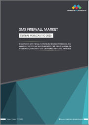 SMS Firewall Market by Component (SMS Firewall Platform and Services (Professional and Managed)), SMS Type (A2P and P2A Messages), SMS Traffic (National and International), Deployment Mode (On-premises and Cloud), and Region - Global Forecast to 2025