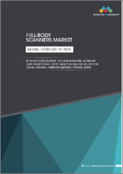Full-body Scanners Market by End-Use Sector (Transport, Critical Infrastructure), Technology (X-ray, Millimeter Wave), Output (Single View, Dual View, 3D), Detection (Manual/Automatic), Component (Hardware/Software), & Region-Global Forecast to 2025
