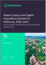 Global Capacity and Capital Expenditure Outlook for Refineries, 2020-2024 - Asia Dominates Global Refinery CDU Capacity and Capex Outlook
