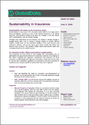 Sustainability in Insurance - Thematic Research