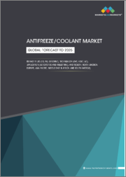 Antifreeze/Coolant Market by Application (Automotive, Industrial), Base Fluid (Ethylene Glycol, Propylene Glycol and Glycerine), Technology, Regions (North America, Europe, APAC, Middle East & Africa, and South America) - Global Forecast to 2025