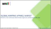 Global Hunting Apparel Market - 2019-2026