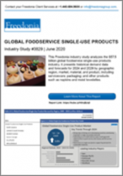 Global Foodservice Single-Use Products with COVID-19 Market