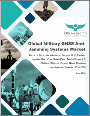 Global Military GNSS Anti-Jamming Systems Market: Focus on Component (Antenna, Receiver Unit), Element Number (Two, Four, Seven/Eight, Twelve/Sixteen), & Platform (Airborne, Ground, Naval, Munition) - Analysis and Forecast, 2020-2025