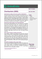 Overtourism (2020) - Thematic Research