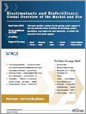 Biostimulants and Biofertilizers: Global Overview of the Market and Use