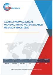 Global Pharmaceutical Manufacturing Fastener Market Research Report 2020
