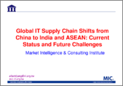 Global IT Supply Chain Shifts from China to India and ASEAN: Current Status and Future Challenges