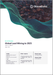 Global Lead Mining to 2025 - Impact of COVID-19