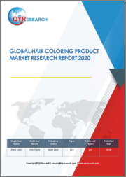 Global Hair Coloring Product Market Research Report 2020