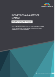 Biometric-as-a-Service Market by Offering, Solution (Fingerprint Recognition, Iris Recognition, Voice Recognition, Palm & Vein Recognition), Trait (Physiological, Behavioral), Modality, Organization Size, Vertical, Region-Global Forecast to 2025
