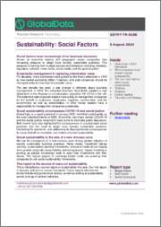 Social Sustainability - Thematic Research
