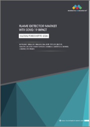 Flame Detector Market with COVID-19 Impact, by Product (Single UC, Single IR, Dual UV/IR, Triple IR, Multi IR), Industry (Oil & Gas, Energy & Power, Chemicals, Aerospace & Defense, Logistics) and Region - Global Forecast to 2026