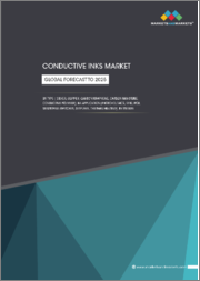 Conductive Inks Market by Type ( Silver, Copper, Carbon/Graphene, Carbon Nanotube, Conductive Polymer), Application (Photovoltaics, RFID, PCB, Membrane Switches, Displays, Thermal Heating), Region - Global Forecast to 2025
