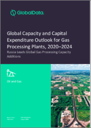 Global Capacity and Capital Expenditure Outlook for Gas Processing Plants, 2020-2024 - Russia Leads Global Gas Processing Capacity Additions