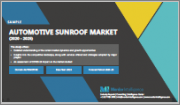 Automotive Sunroof Market - Growth, Trends, and Forecast (2020 - 2025)