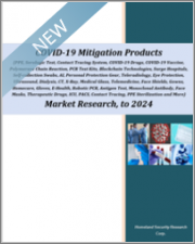 COVID-19 Mitigation Products (PPE, Serologic Test, Contact Tracing, COVID-19 Drugs, COVID-19 Vaccine, Polymerase Chain Reaction, PCR Test Kits, Blockchain Technologies, Surge Hospitals, Self-collection Swabs, and More) Market Research to 2024