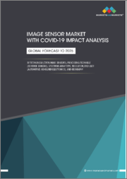 Image Sensor Market with COVID-19 Impact Analysis by Technology (CMOS Image Sensors), Processing Technique (3D Image Sensors), Spectrum, Array Type, Resolutions End User (Automotive, Consumer Electronics), and Geography - Global Forecast to 2025