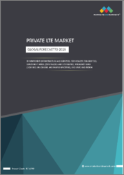 Private LTE Market by Component (Infrastructure and Services), Technology (FDD and TDD), Deployment Model (Centralized and Distributed), Frequency Band (Licensed, Unlicensed, and Shared Spectrum), End User, and Region - Global Forecast to 2025
