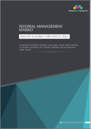 Referral Management Market by Component (Software [Integrated, Standalone], Services), Mode of Delivery (Cloud-Based, On-Premise), Type (Inbound , Outbound), End User (Providers, Payers, Others) - Analysis & Global Forecasts to 2025