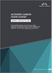 Activated Carbon Filters Market by Type (Stainless Steel Shell, Carbon Steel Shell, Others), Application (Industrial Water Pollution Treatment, Drinking Water Purification, Food & Beverage, Pharmaceutical, Others), & Region - Global Forecast to 2025