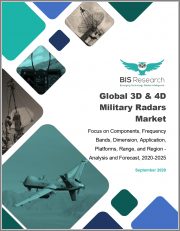 Global 3D & 4D Military Radars Market: Focus on Components, Frequency Bands, Dimension, Application, Platforms, Range, and Region - Analysis and Forecast, 2020-2025