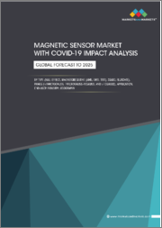 Magnetic Sensor Market with COVID-19 Impact Analysis by Type (Hall Effect, Magnetoresistive (AMR, GMR, TMR), SQUID, Fluxgate), Range (<1microgauss, 1microgauss-10gauss, and >10gauss), Application, End-user Industry, Geography-Global Forecast to 2025