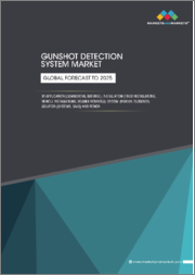 Gunshot Detection System Market by Application (Commercial, Defense), Installation (Fixed, Soldier Mounted, & Vehicle Mounted), Product Type (Indoor, & Outdoor), & Region (North America, Europe, Asia Pacific, Middle East) - Global Forecast to 2025