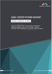 Data Center Power Market by Solution (Power Monitoring, Power Distribution, Power Backup, & Cabling Infrastructure), Service (System Integration, Training & Consulting, Support & Maintenance), End-User Type, Vertical, & Region-Global Forecast to 2025