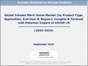 Global Inhaled Nitric Oxide Market (by Product Type, Application, End-User & Region): Insights & Forecast with Potential Impact of COVID-19 (2020-2024)