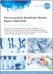 Global Pharmaceutical Blockchain Market Research Report 2020-2030: Market Size, Industry Outlook, Market Forecast Report - Forecasts by Technology (Public, Private), by Application, by Region, plus Analysis of Leading Companies