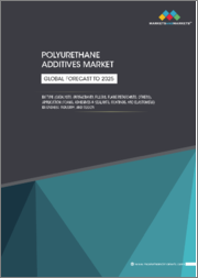 Polyurethane Additives Market by Type (Catalysts, Surfactants, Filler, Flame retardants, and others), Application (Foams, Adhesives & Sealants, Coatings, Elastomers), End-use Industry and Region - Global Forecast to 2025